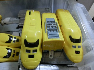 「S-07 ライト付923形ドクターイエロー T4編成」 屋根&前面