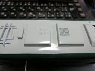 KF-04 叡山電車「ひえい」 屋根 ②
