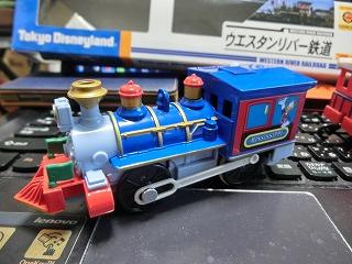 プラレール「ウエスタンリバー鉄道(ミシシッピ号)」 機関車