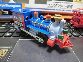 プラレール「ウエスタンリバー鉄道(ミシシッピ号)」 機関車 ②