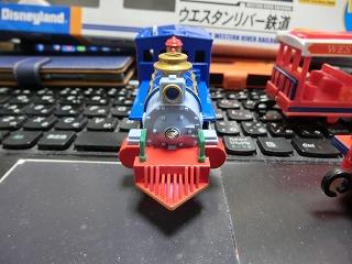 プラレール「ウエスタンリバー鉄道(ミシシッピ号)」 機関車 ③