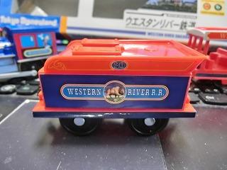 プラレール「ウエスタンリバー鉄道(ミシシッピ号)」 炭水車