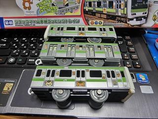 「SC-05 リラックマ×山手線ラッピングトレイン」 側面