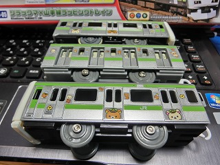 「SC-05 リラックマ×山手線ラッピングトレイン」 側面 ②