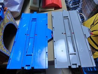 PS線路部品(土台/床板) ストップレール機能あり