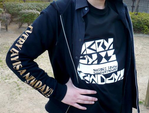 IZAWA SHIORI×LIVERTINE AGE コラボTシャツ