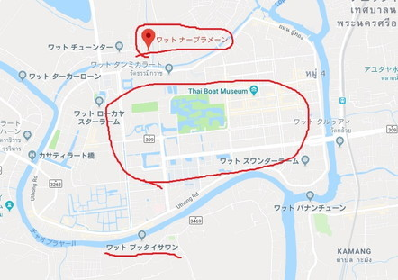 アユタヤ マップ map 02