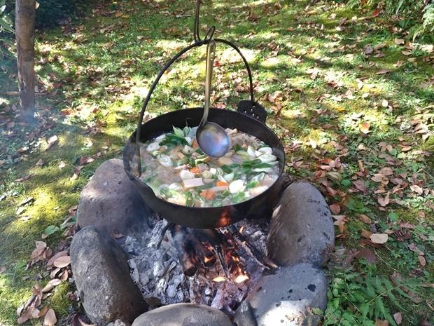 芋煮会の山形庄内版