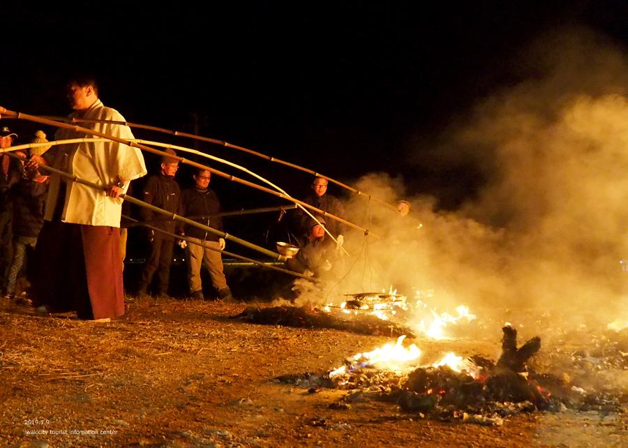 大國魂神社にて「鳥小屋」のお焚き上げが行われました! [平成31年1月9日(水)更新]13