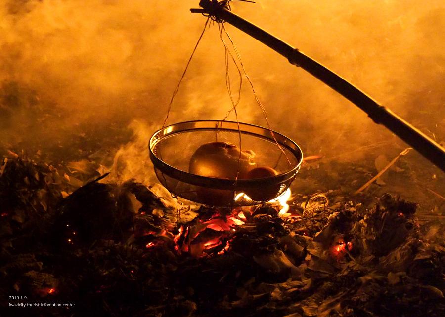 大國魂神社にて「鳥小屋」のお焚き上げが行われました! [平成31年1月9日(水)更新]15