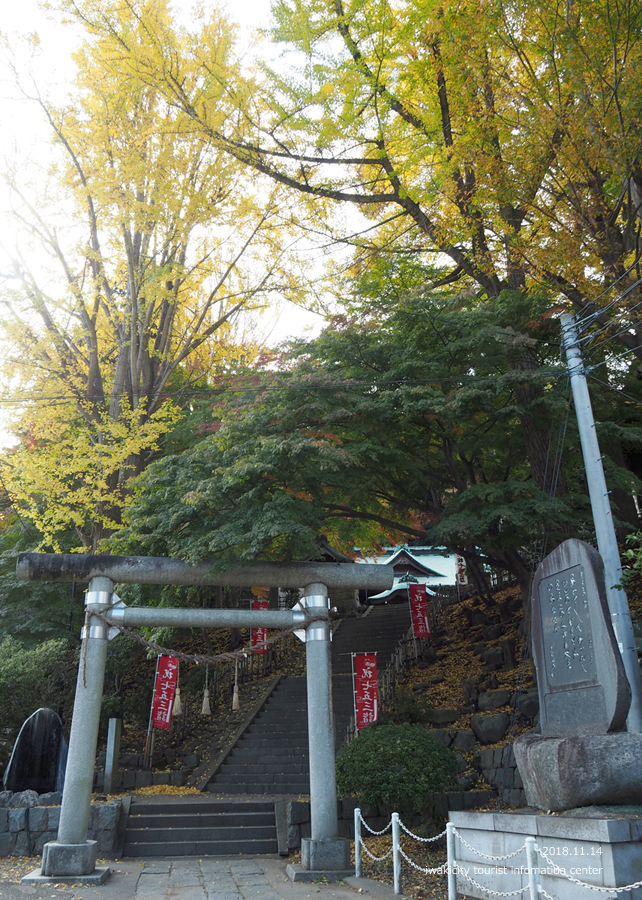 紅葉情報2018 温泉神社 [平成30年11月15日(水)更新]2