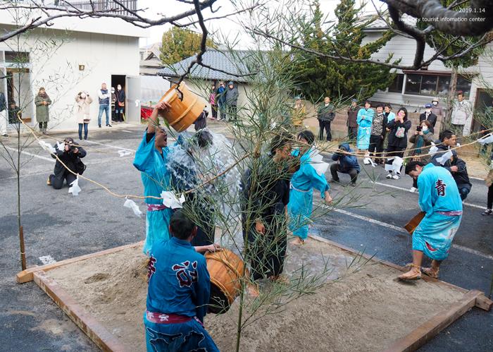 奇祭「沼ノ内の水祝儀」が執り行われました! [平成31年1月16日(水)更新]4