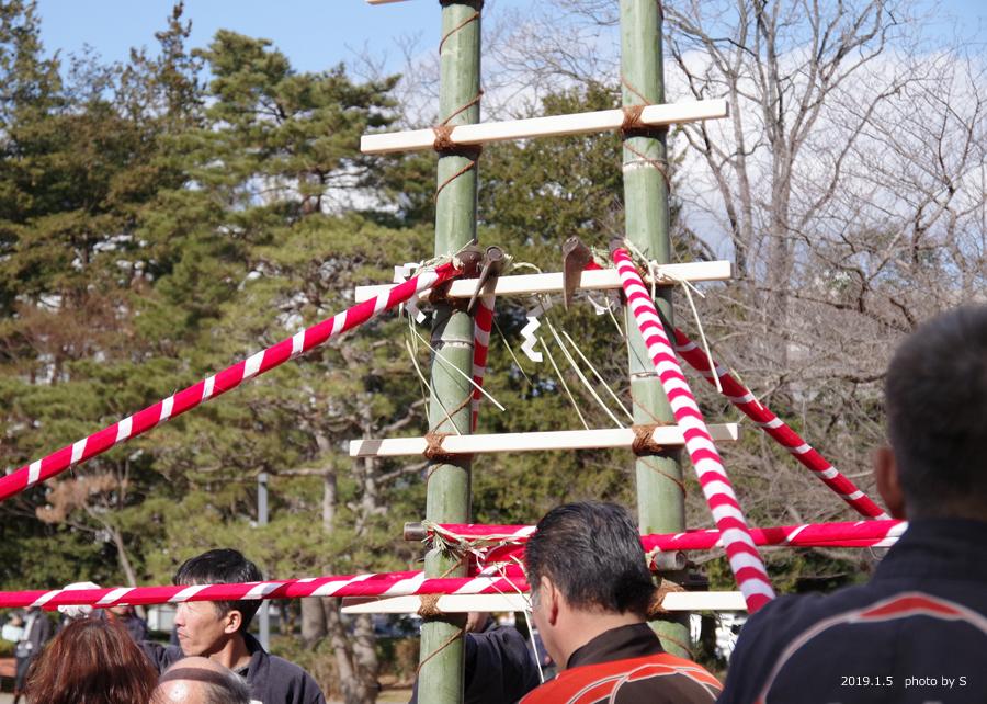 「平成31年いわき市消防出初式・はしご乗り」が行われました! [平成31年1月7日(月)更新]平中央公園5