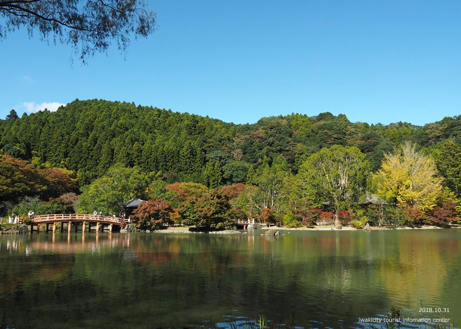 紅葉情報2018 国宝白水阿弥陀堂 [平成30年10月31日(水)更新]5