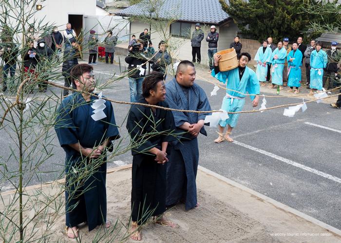 奇祭「沼ノ内の水祝儀」が執り行われました! [平成31年1月16日(水)更新]9