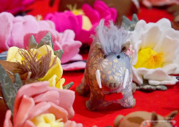 色鮮やかなつるし雛を見に出かけてみませんか。「中之作 つるし雛飾りまつり」開催中です! [平成31年2月3日(日)更新]12