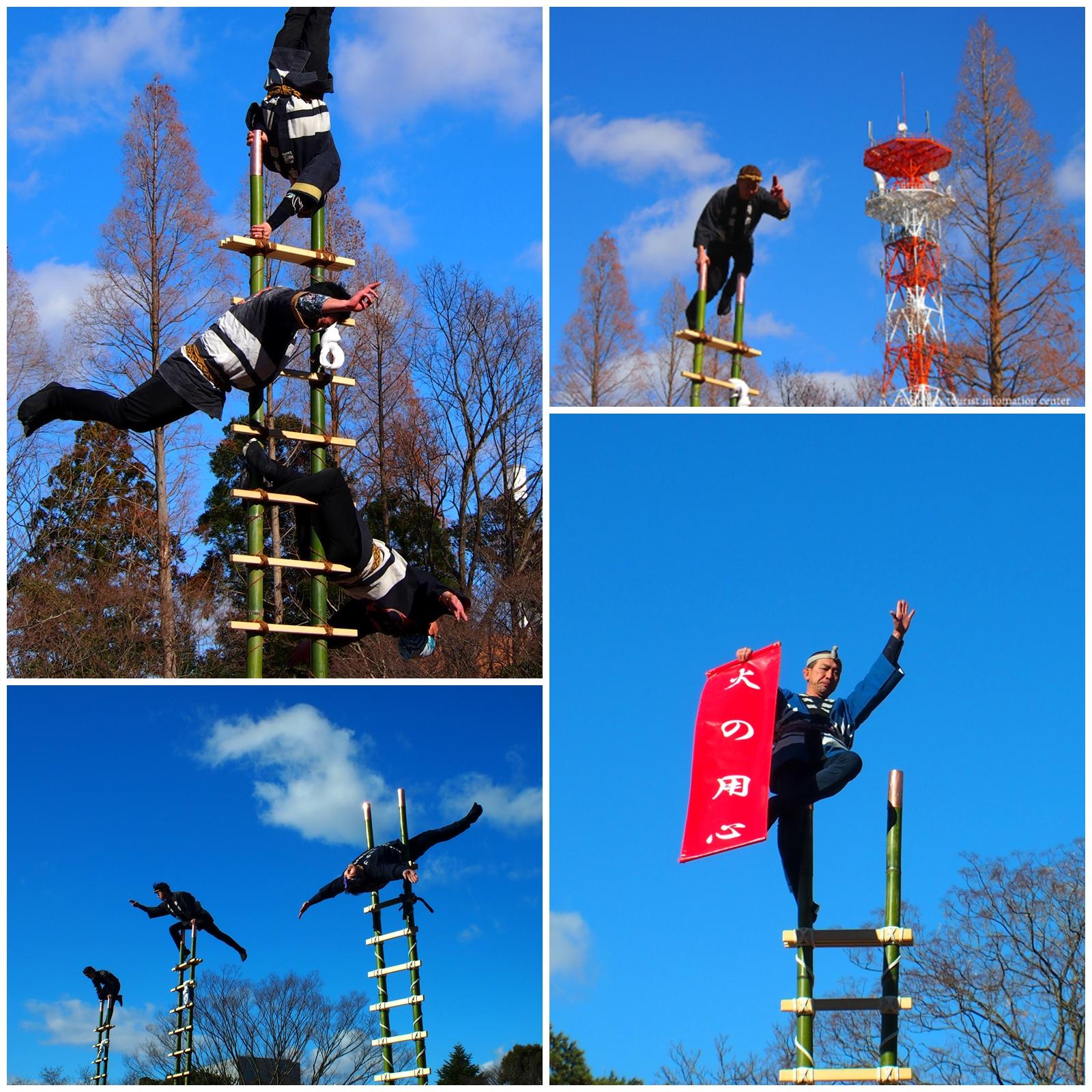 新春の恒例行事「はしご乗り」が披露されます! [平成31年1月4日(金)更新]3