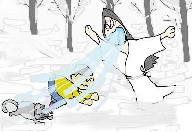 雪女の攻撃