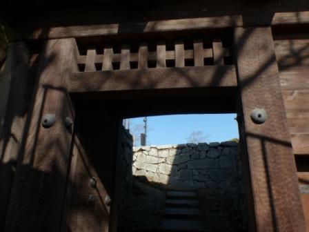 松山城 艮門 1