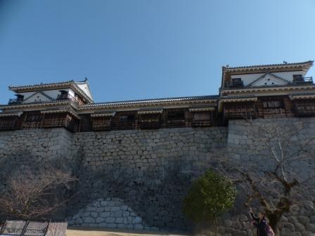松山城 南隅櫓・十間廊下・北隅櫓