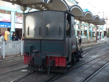 坊っちゃん列車 回転 2