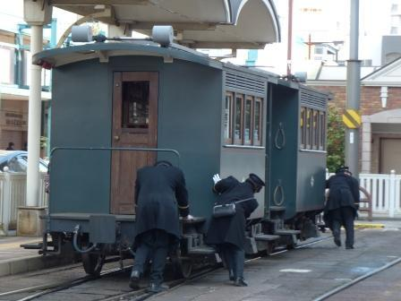 坊っちゃん列車 回転 8