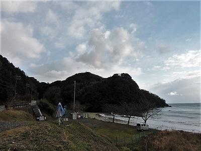 難波江城跡遠景2