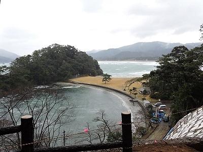 高浜城跡の踏査 (2)