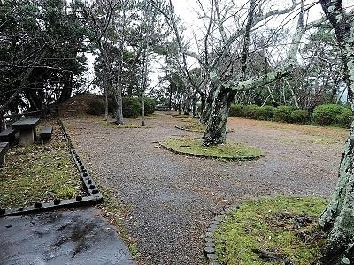高浜城跡の踏査 (3)