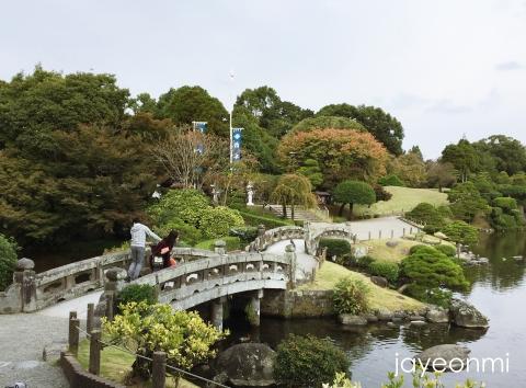 くまモン_熊本_水前寺公園_2018年10月_1