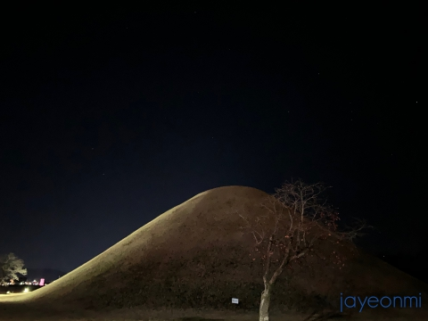 慶州の夜_2018年12月