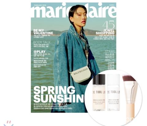 17_韓国女性誌_Mariclair_マリクレール_2019年2月号_1-1