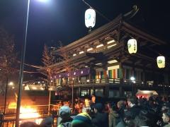 2019年のお正月元旦は増上寺にお詣りしました4