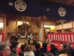 2019年のお正月元旦は増上寺にお詣りしました2