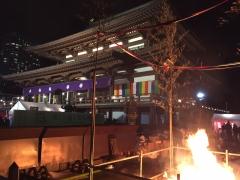 2019年のお正月元旦は増上寺にお詣りしました3