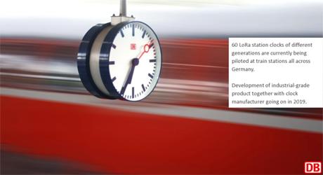 LoRaWANによる駅の変革 - Deutsche Bahn(DB) ドイツ鉄道