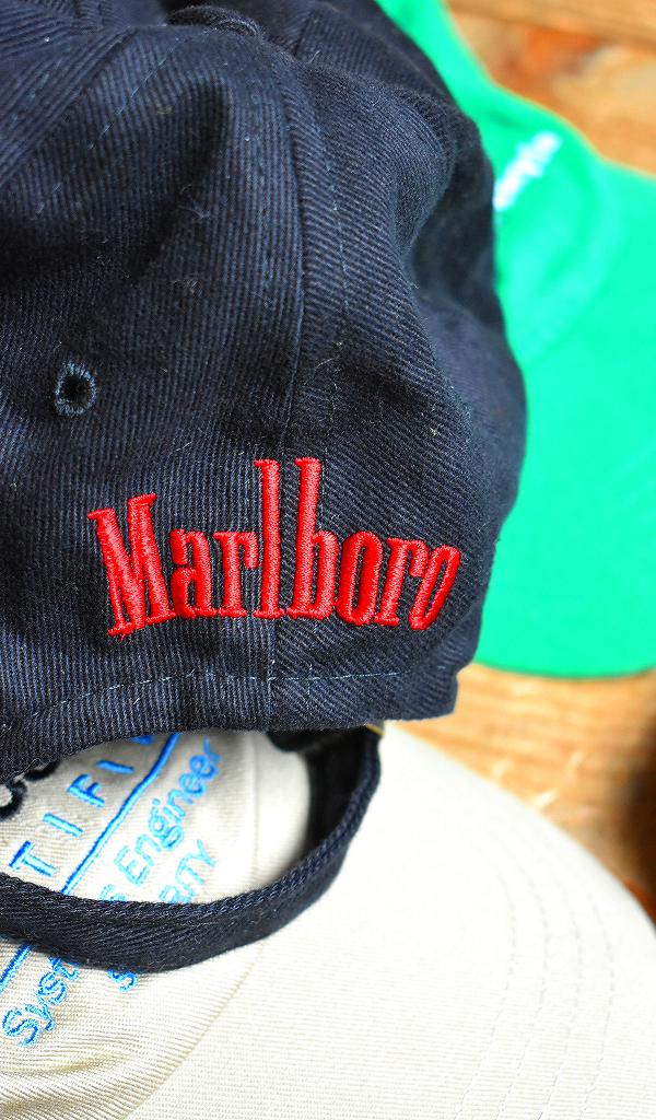 ベースボールキャップ画像USEDメンズレディース帽子コーデ企業物ノベルティー@古着屋カチカチ