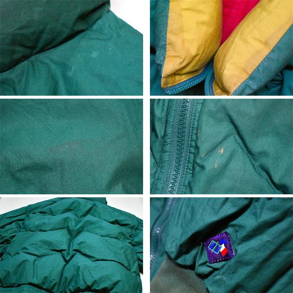 ナイロンフリースジャケットUsedダウンジャケット画像メンズレディースコーデ@古着屋カチカチ