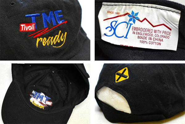 黒ブラックキャップ帽子メンズレディースコーデ画像@古着屋カチカチ