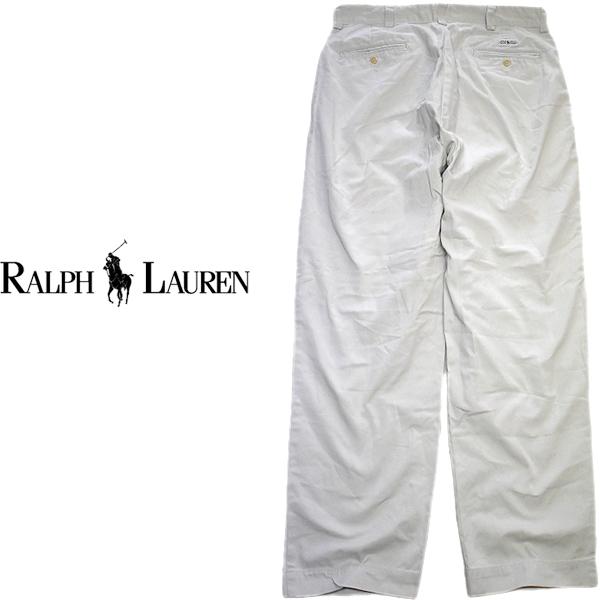 ラルフローレンPOLO Ralph Laurenチノパン画像メンズレディースコーデUsedワイドパンツ古着屋カチカチ