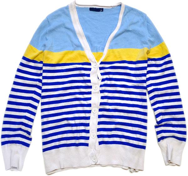 USED薄手ニットセーター画像@古着屋カチカチ (3)