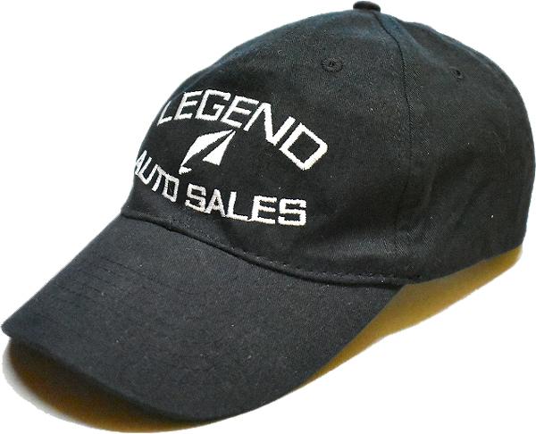 USED黒ベースボールキャップ帽子@古着屋カチカチ (7)