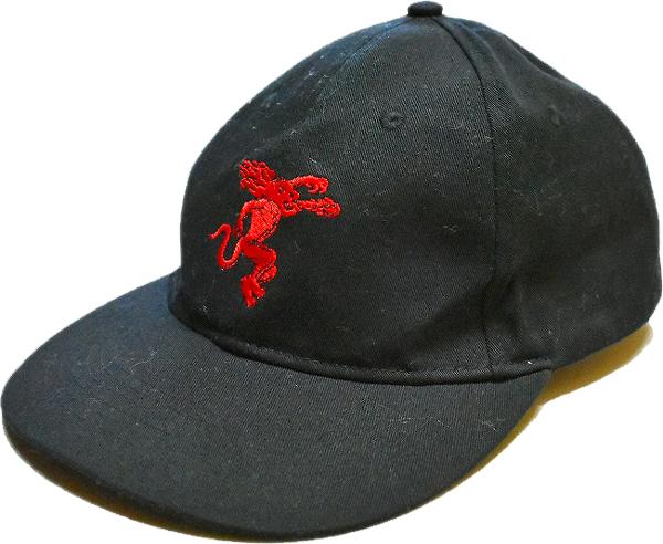 USED黒ベースボールキャップ帽子@古着屋カチカチ