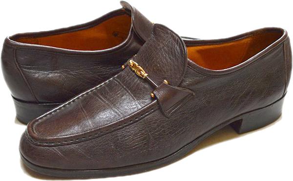 ローファー革靴USEDレザーシューズ画像@古着屋カチカチ (8)