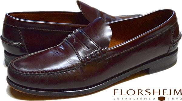 ローファー革靴USEDレザーシューズ画像@古着屋カチカチ (2)