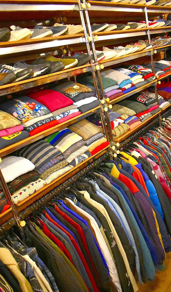 クリスマススペシャルセール古着屋カチカチ店内画像Used Clothing Shop@Tokyo Japan010