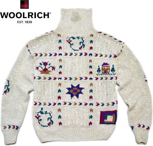 ハイネック冬物ニットセーター画像@古着屋カチカチ (7)