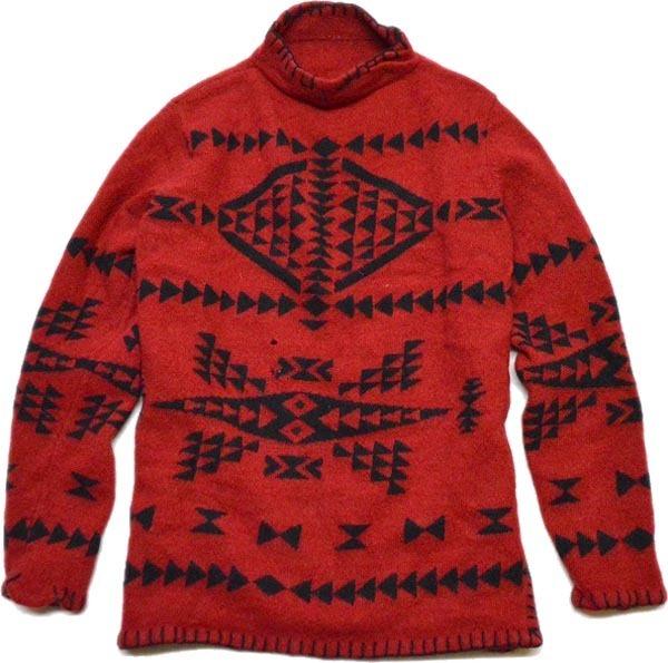 ハイネック冬物ニットセーター画像@古着屋カチカチ (10)