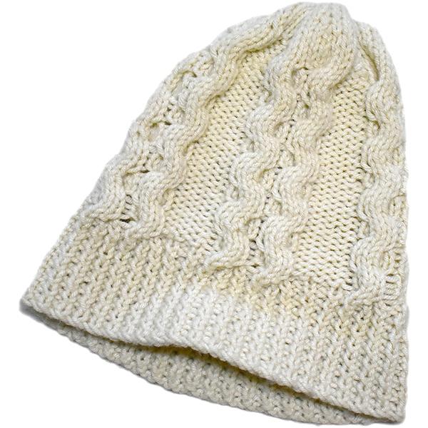 ニットキャップ帽子ニット帽メンズレディースコーデ画像@古着屋カチカチ