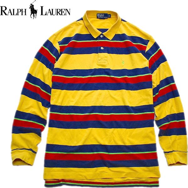 ラルフローレンPOLO長袖ロンTシャツ画像メンズレディーススタイルコーデ古着屋カチカチ